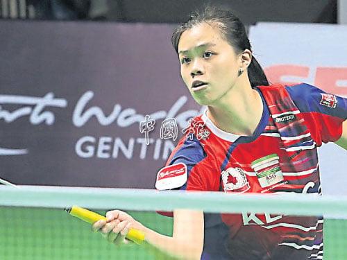 卸下了國家隊比賽壓力,讓翁麗蓮重拾對羽運的熱忱。(攝影:潘嘉威)