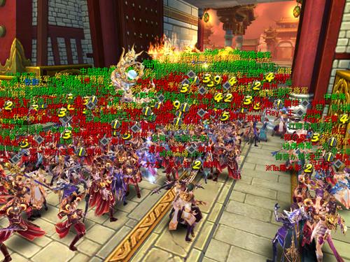 《六龍御天》在一般手游中有罕見的自由視覺,遊戲流暢度及打擊感可說是超班了。