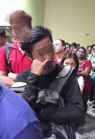 被指非禮的男子隨後被警方逮捕。