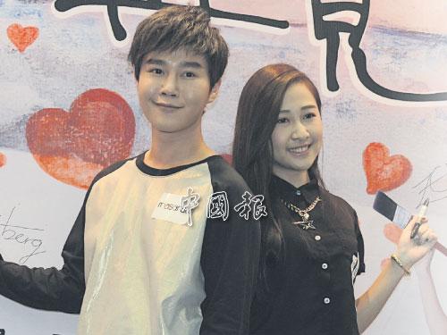 李承運(左)和俊倩在《也許再見》分別飾演眼鏡設計師和畫家,二人一見鍾情會擦出怎樣火花呢?