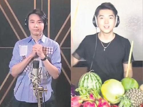 """朱浩仁通過""""唱吧APP""""與陶喆隔空合唱的《找自己》,獲得8萬人按讚。"""
