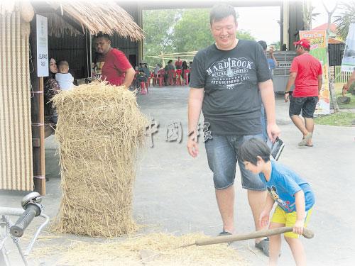 稻地節為公眾進行有意義的實踐教育。