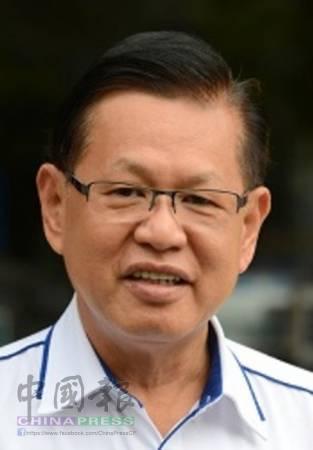 砂新內閣唯一華裔助理部長李景勝。