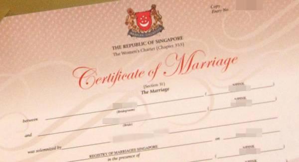 女被告找人冒充男友跟她結婚,被判監禁4周。(檔案示意圖)