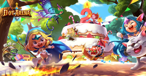 《刀塔傳奇》動態牌面無限收集,畫面新銳動感滿足要求高品質玩家。