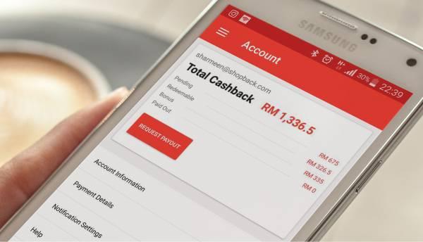 ShopBack讓每個消費者都能從日常網購中快速省下一部分的現金,同時商家和返利網站獲取薄利。
