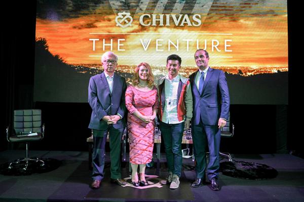 芝華士(Chivas Regal)激勵社會創業家及致力於改變社會的年輕人,追求理想。