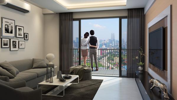 你絕不能錯過的驚喜,3房式單位售價僅從30萬令吉起。