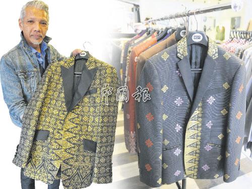 """左圖:Bon Zainal向來鼓吹""""正式穿著""""proper dressing,無論到任何場合,都可以表現自信一面。 右圖:Bon提醒每位男士,在衣櫥內至少要有一件黑色合身西裝外套,穿著最為保險。"""