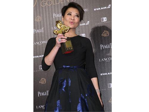 金燕玲憑《一念無明》奪最佳女配角。(蘋果日報)