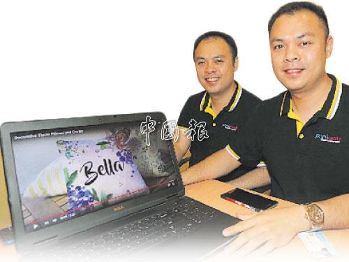 """童輝梁(左)和童輝棟視提供的""""獨一無二""""專業服務為創業守則,為禮品市場開創一番新天地。"""