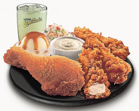 想吃傳統炸雞,又想享用Crispy Tenders去骨炸雞的美味,那麼Kombo Sensasi套餐絕對可以滿足你。