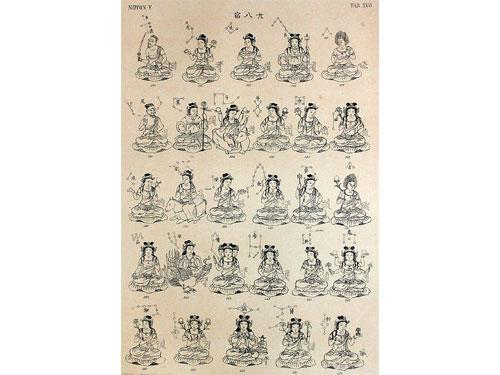 二十八宿佛教造像。 圖:互聯網