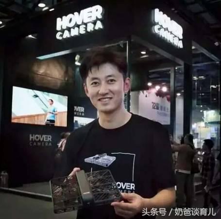 發明「小黑俠」跟拍無人機的王孟秋。