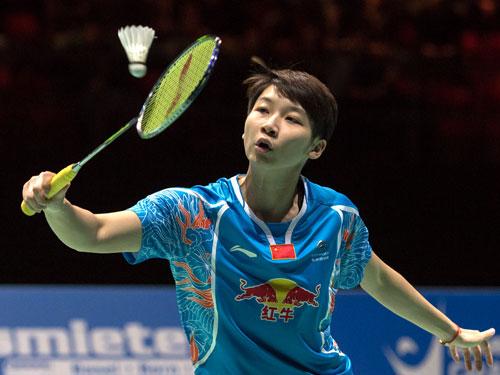 陳曉欣在決賽打敗隊友,贏得個人第一個國際賽冠軍。(歐新社)