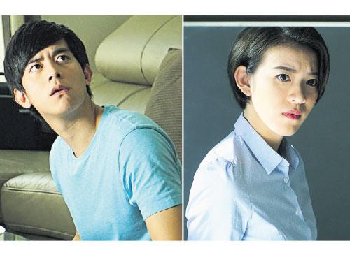 大馬新生代演員狄妃(右)和李偉燊再憑《寵我》鎮勇奪卓越女配角及卓越男配角獎。
