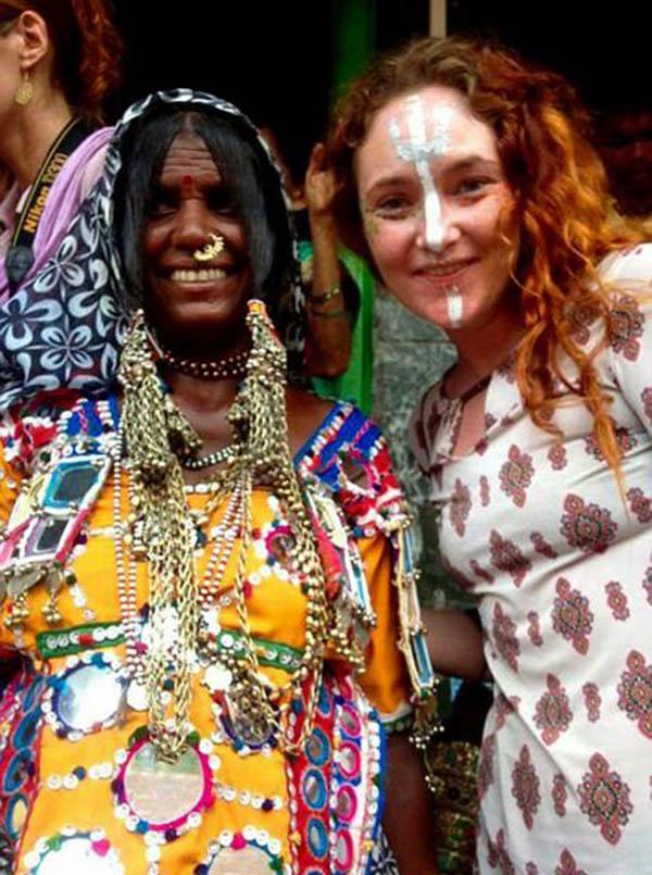 麥克勞克林去年也曾到印度旅遊。(每日郵報)