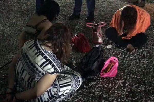 這些女子相信都是涉及賣淫的女郎。