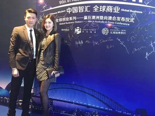 李悅彤消失一年,近來轉做幕后,目前任職的公司老闆就是她的緋聞男友鮑偉業。