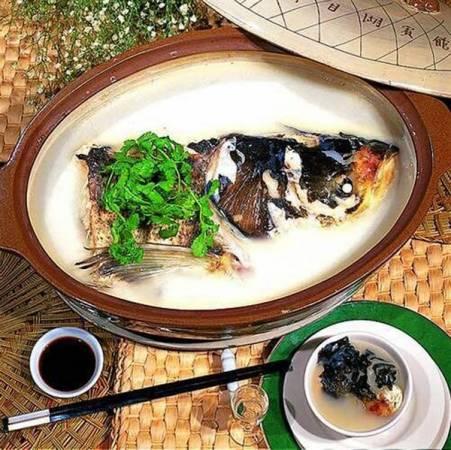 千島湖馳名遠方的就是魚頭宴!