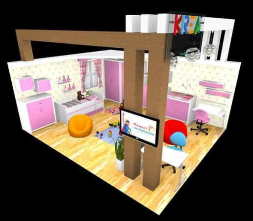 低排放量及無毒素家具,提供孩子一個安全又健康的居家環境。