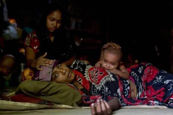 數十萬羅興亞難民擠在孟加拉的難民營,處境堪慮。