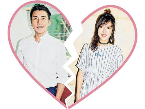 洪永城(左)與唐詩詠(右)不時傳出分訊,未知今次是真是假?