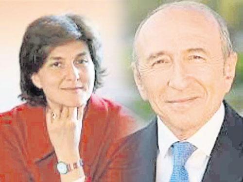 左:女防長古拉爾(52歲) 右:內政部長科隆(69歲)