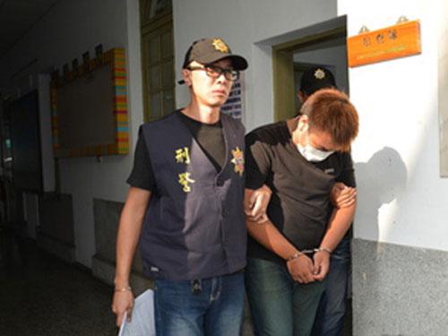 和魯男性侵女子的林姓少年。圖:台灣《蘋果日報》