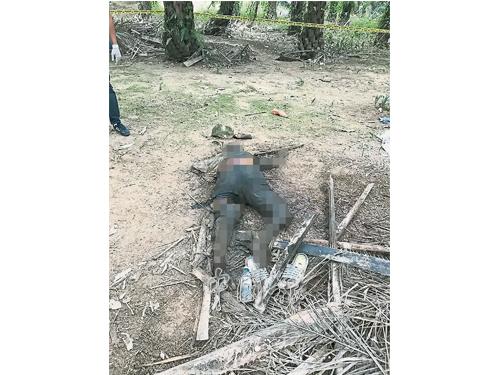 失蹤10天的老翁證實死在油棕園內。