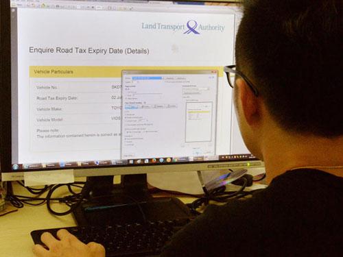 新加坡人駕車北上馬來西亞時,應攜帶路稅有效證明打印本。