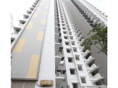 事發地點是黃埔一帶的惹蘭登德蘭第116B座組屋。