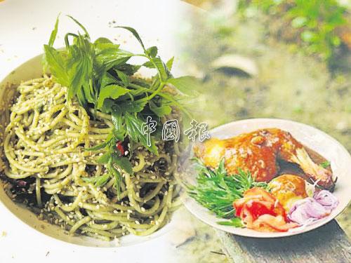 這兒的食物強調天然食材,原汁原味,無添加味精。