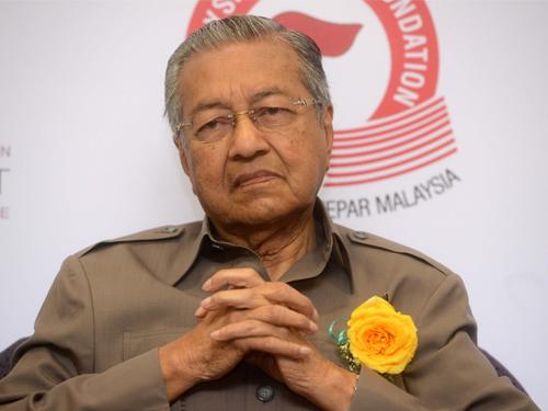 前首相敦馬哈迪