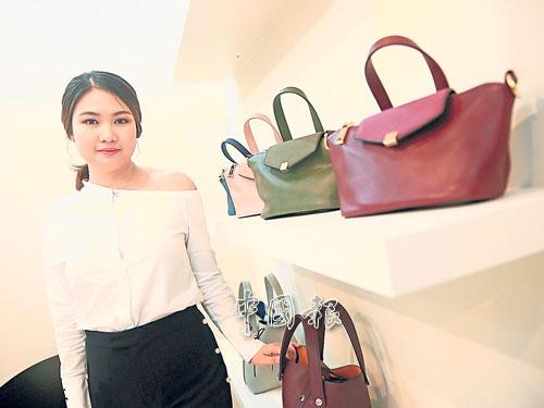 黃绣敏:目前生意只專注于網絡銷售,未來才考慮要不要開旗艦店。