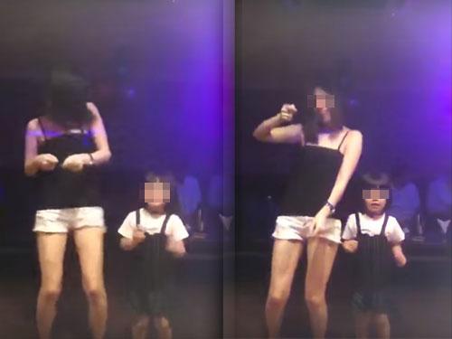 影片中显示一名母亲带着女儿到夜间场所,一起跳舞。母亲声称只是带女儿跳舞,并没有让女儿嗑药。