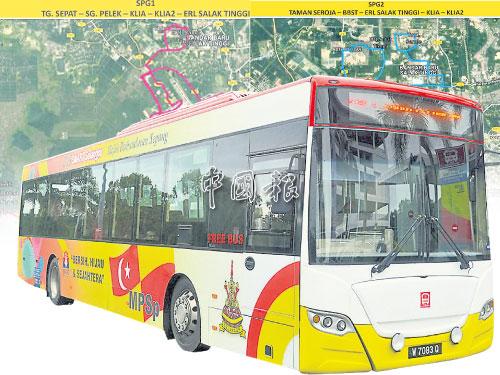 川行在雪邦市議會管轄區內的免費精明巴士的搭客人數,每月介于8000至1萬人。