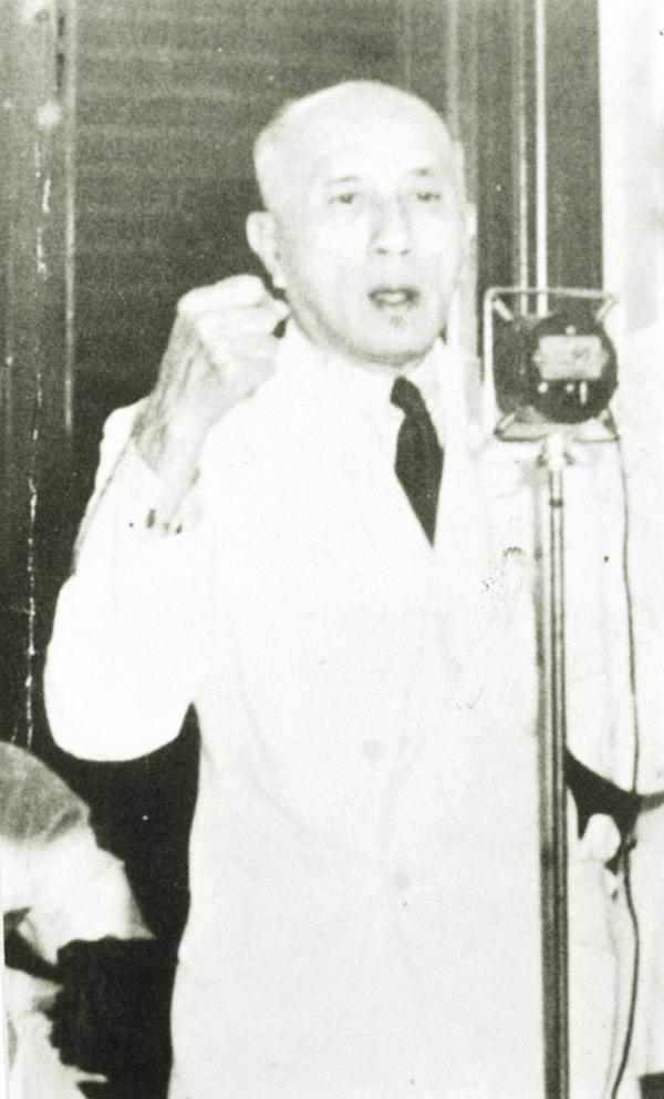 郭老最欽佩的是敦陳禎祿。