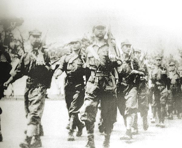 日軍攻打馬來亞半島時期,郭老是最後一個離開新山