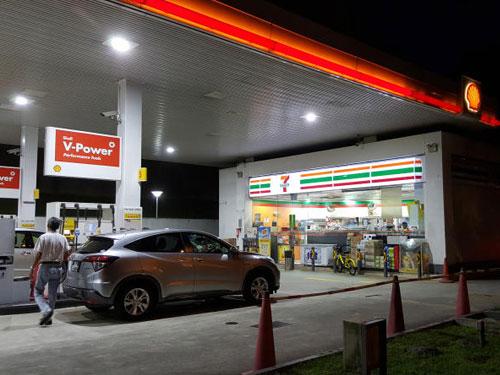 案發地點是武吉知馬路上段的蜆殼油站。