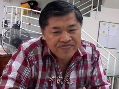郭金福是行動黨第四任秘書長。