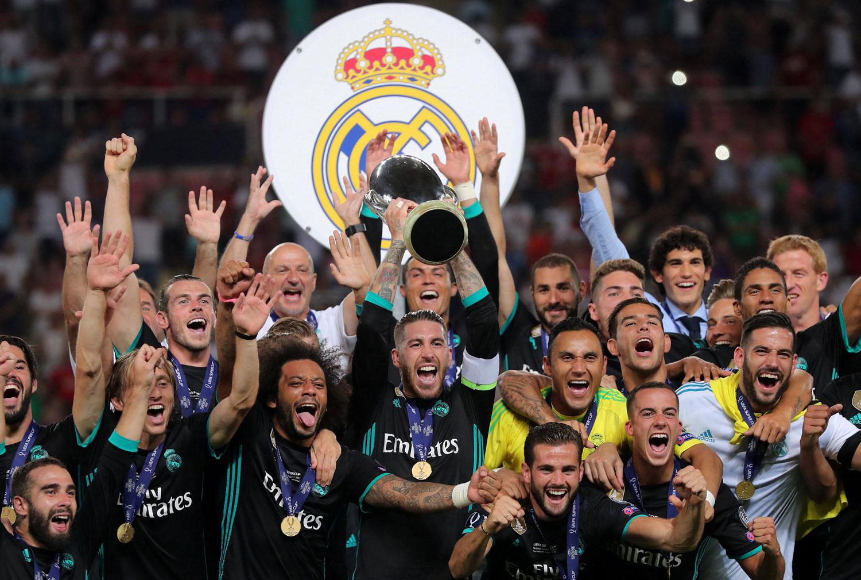 皇馬險勝曼聯保住歐超杯,為新賽季取得好開端。(路透社)