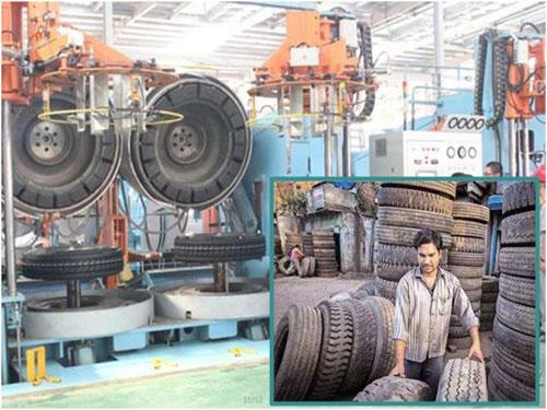 印度政府針對中國進口的93種產品包括輻射層輪胎,徵收反傾銷稅。(資料圖)