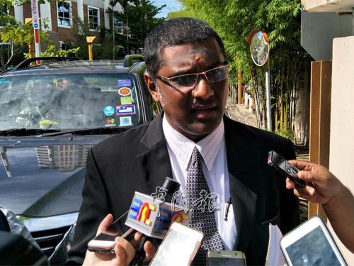 行動黨斯裡德裡瑪州議員雷爾證實彭文寶遭反貪會逮捕。