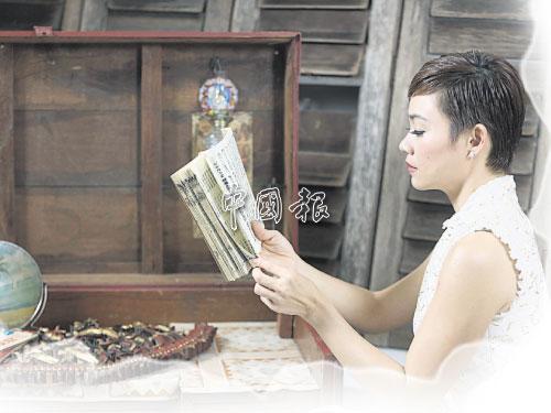 把鄉音融入閱讀文本,讓楊雁雁看到鄉音母語唯美的一面。