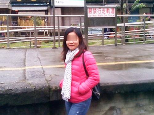 被指控來台灣找男人取精的女博士,目前人已離開台灣。