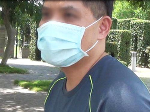 指控遭中國女博士取精的台灣洪姓男子。