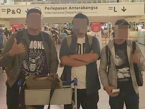 3人在日本的惡行被揭發后,一夜間成網絡紅人。