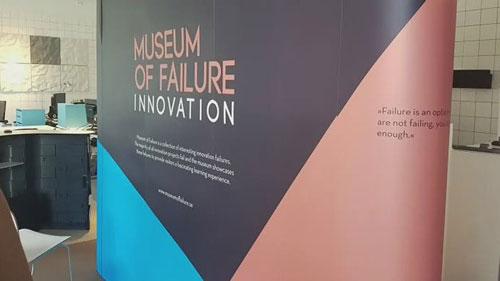 """""""失敗博物館""""希望遊客吸取前人的經驗,創作更多新奇的產品。圖/巴士的報"""