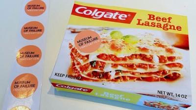 """牙膏品牌""""高露潔""""(Colgate)於上世紀80年代推出的食品。圖/巴士的報"""